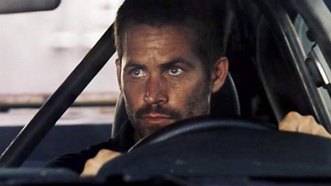 Paul Walker en una imagen de la saga 'Fast & Furious'