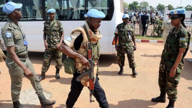 Militares keniatas, en un a imagen de archivo.