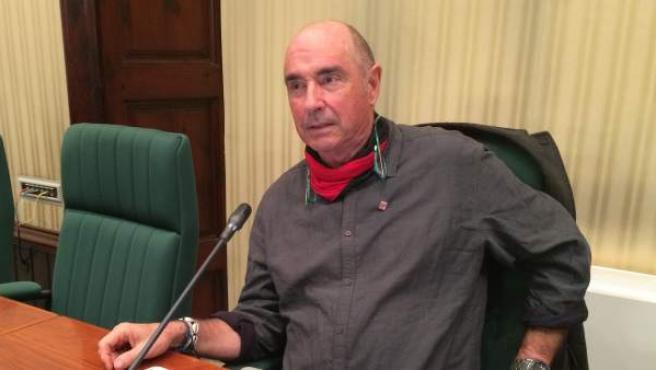Lluis Llach, diputado de Junts pel sí en el Parlament.