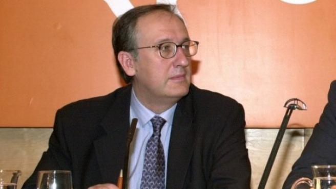Ildefonso de Miguel, gerente del Canal de Isabel II hasta el año 2009