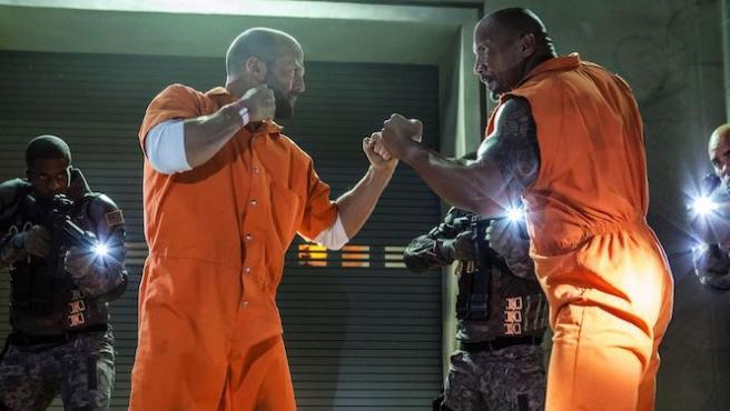 """Dwayne Johnson promete """"la mejor pelea de la historia"""" contra Jason Statham"""