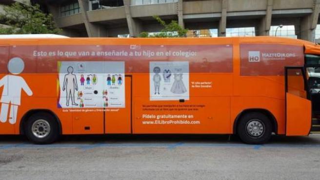 Nuevo autobús de Hazte Oír.