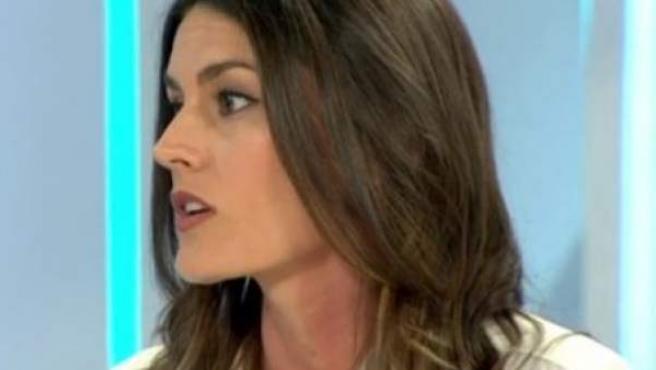 La ingeniera segoviana Rebeca Minguela, nombrada joven líder mundial, en la entrevista con el programa Espejo Público, de Antena 3.