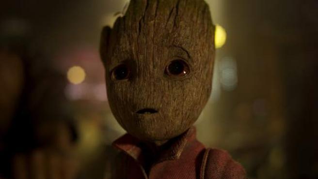 Baby Groot en 'Guardianes de la Galaxia Vol. 2'.