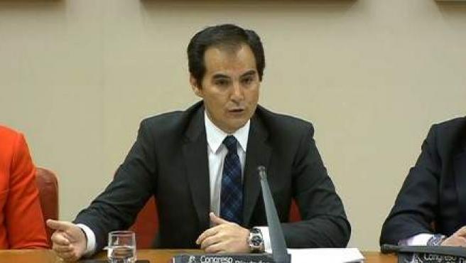 El secretario de Estado de Seguridad, José Antonio Nieto, en el Congreso.