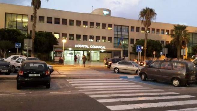Hospital Comarcal de Melilla, lugar donde fallecieron la mujer embarazada y su bebé tras ser dada de alta anteriormente.