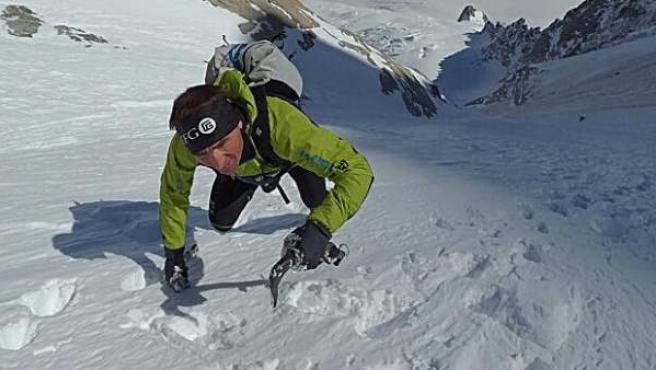 El alpinista suizo Ueli Steck.