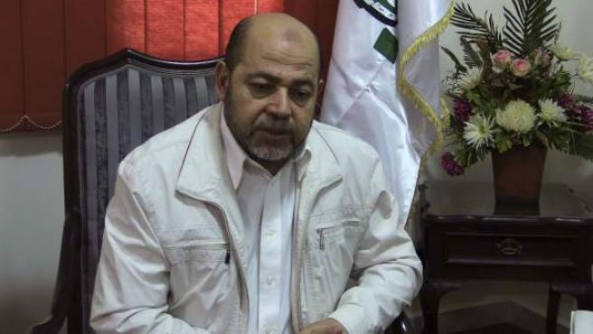 El 'número dos' del movimiento palestino Hamás, Musa Abu Marzuq, en El Cairo.