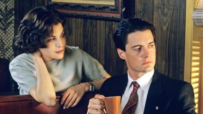 Una imagen de archivo de la serie de ABC 'Twin Peaks'.