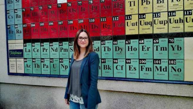 La investigadora de la UJA Lucía Molina, una de las autoras del artículo.