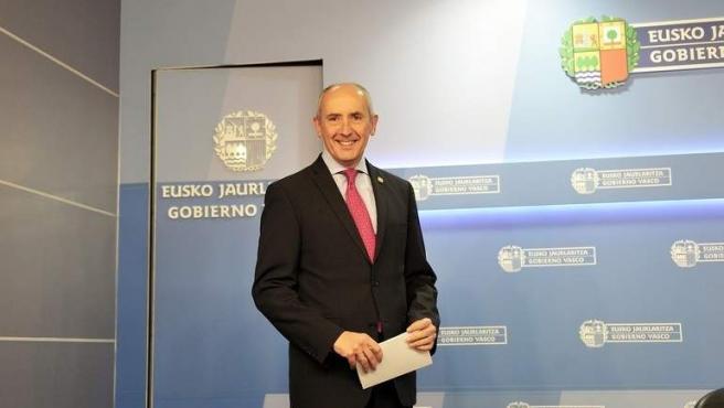 Josu Erkoreka, portavoz del Gobierno vasco.