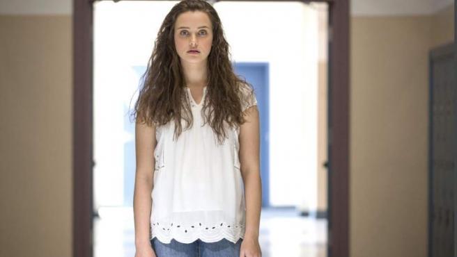 Katherine Langford es la actriz que pone rostro a Hannah Baker en 'Por trece razones'.