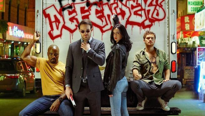 Primer tráiler de 'The Defenders: Los héroes televisivos de Marvel, contra Sigourney Weaver