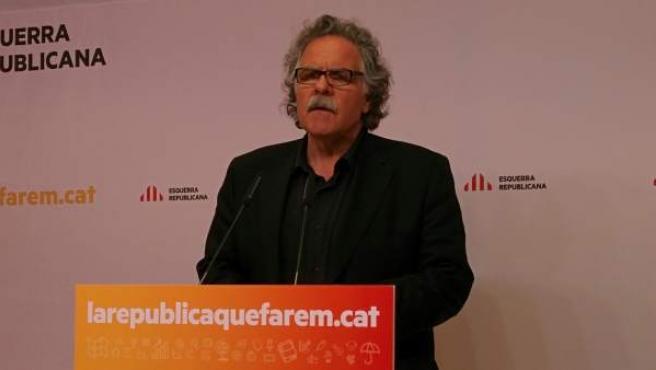 Imagen del portavoz de ERC en el Congreso, Joan Tardà.