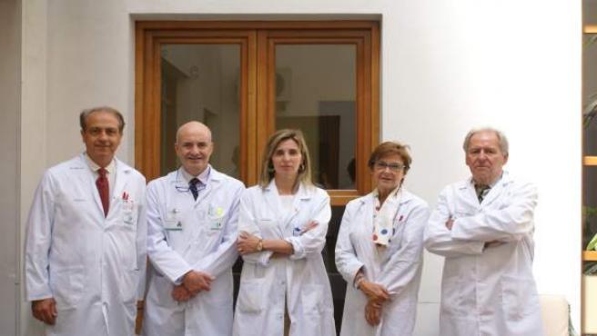 Equipo Unidad cáncer de mama del Hospital Quirón