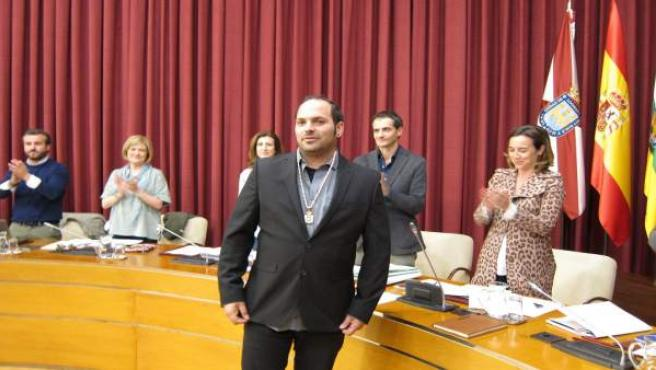 Antonio Fuertes nuevo concejal de Ciudadanos en el Ayuntamiento de Logroño