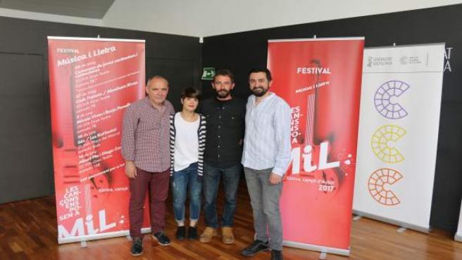 Presentació del festival Música i Lletra