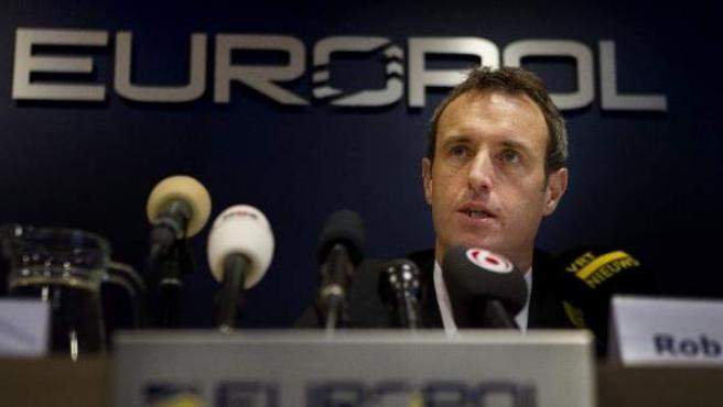 El director de Europol, Rob Wainwright.