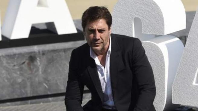 El actor Javier Bardem, en la presentación de la película 'Bigas x Bigas' en la 64ª edición del festival de cine de San Sebastián.