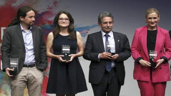 Revilla y otros premiados