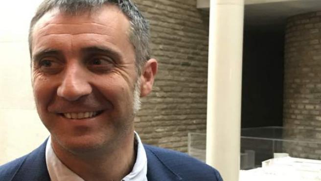 El diputado de Cs, Ramiro Domínguez, este viernes en las Cortes