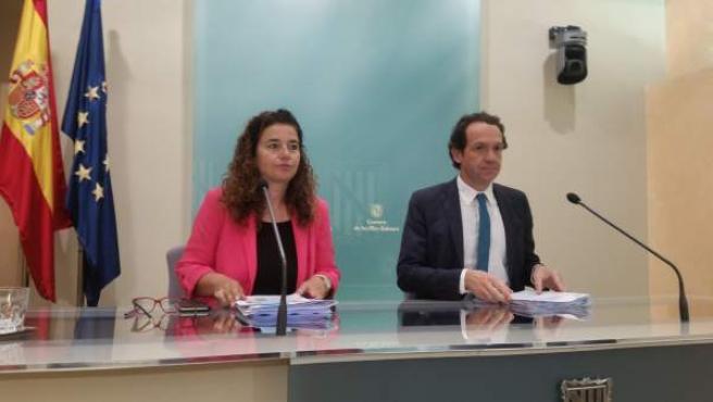 Pilar Costa y Marc Pons