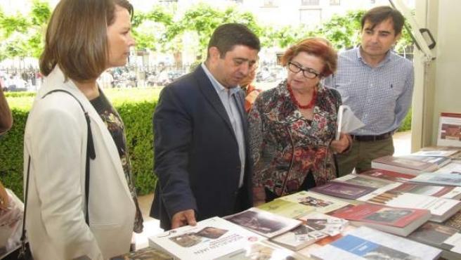 Inauguración de la Feria del Libro de Jaén