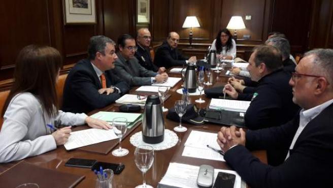 Constitución de la comisión técnica incorporar Policía Local de Málaga a Viogén