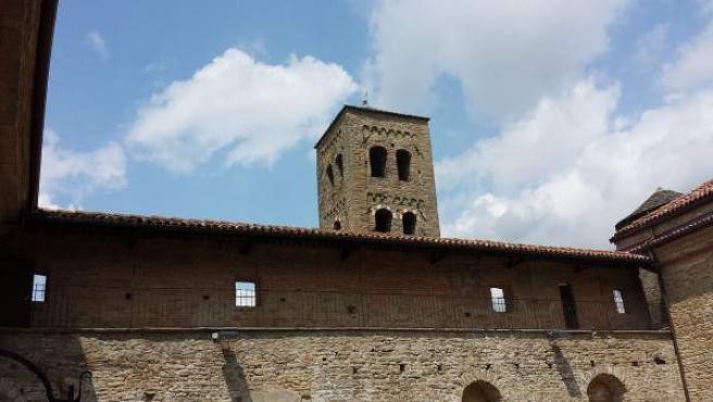 Imagen de archivo de una iglesia en el municipio italiano de Bormida.