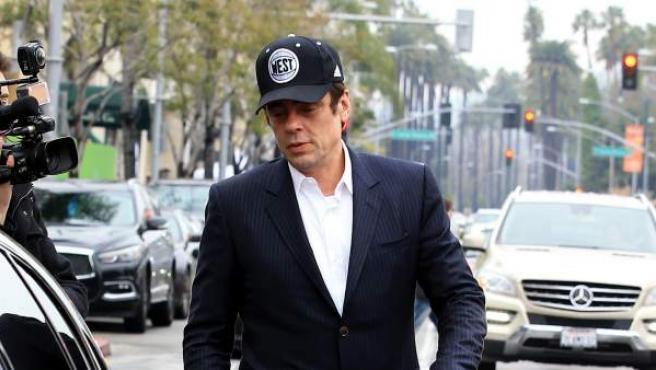 Benicio del Toro, en Los Ángeles en febrero de 2017.