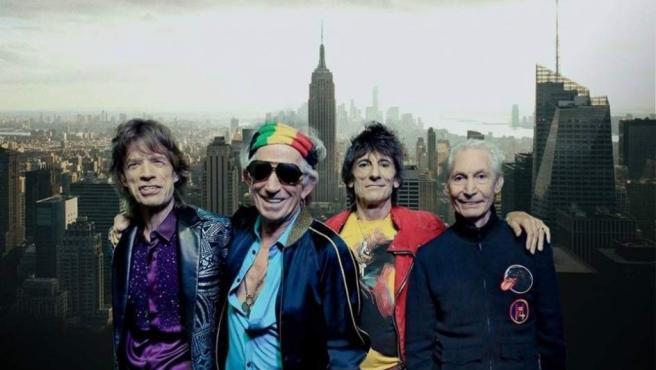 La banda británica The Rolling Stones.