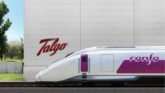 Talgo, tren AVE 'Avril'