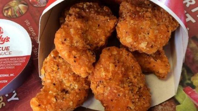 Nuggets de pollo de Wendy's.
