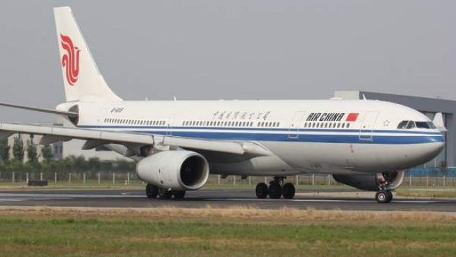 Un avión de Air China.
