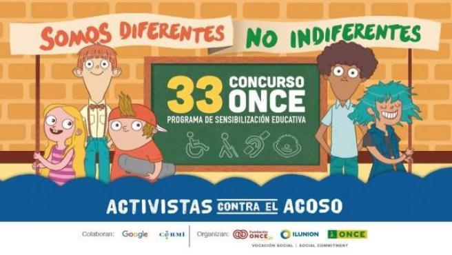 El cartel del concurso de la Once y su Fundación