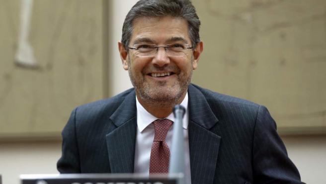 Rafael Catalá en la comisión de Justicia.
