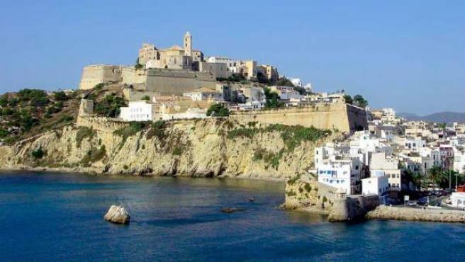 Dalt Vila, la parte más antigua de Ibiza.