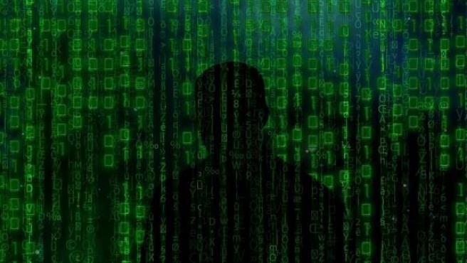 Imagen de archivo que representa a un ciberdelincuente.