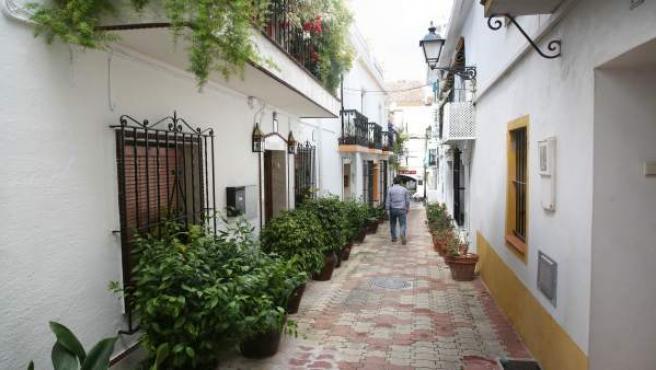 Calle montenebros marbella obras reforma ayuntamiento
