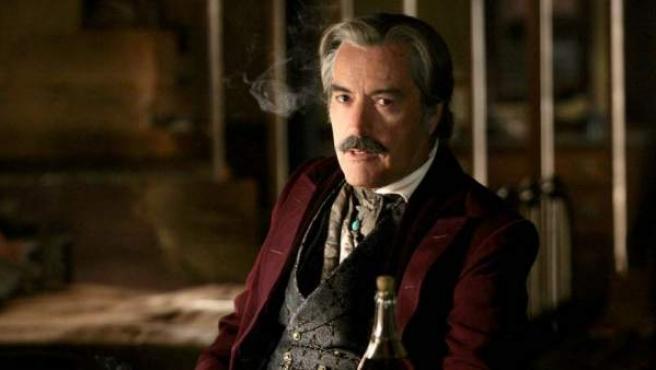 Powers Boothe en 'Deadwood'.