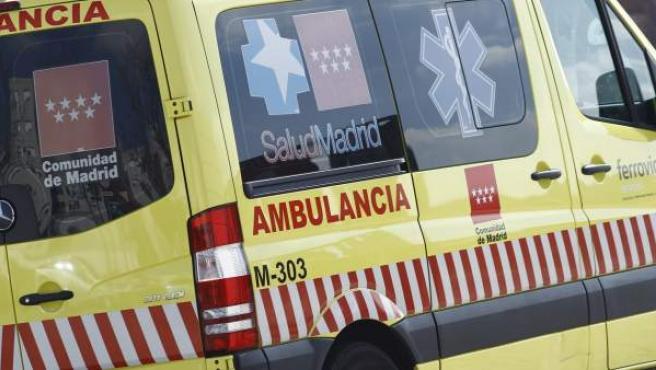Una ambulancias del SUMMA 112.