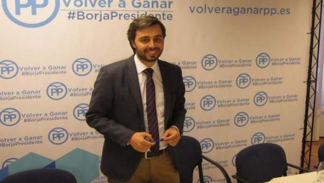 El precandidato a la Presidencia del PP de Valladolid Borja García Carvajal