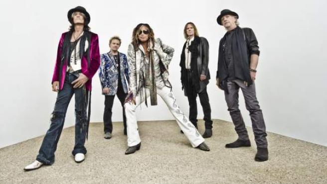 La banda Aerosmith.