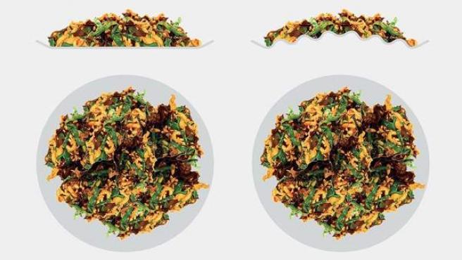 Imagen del plato creado por el diseñador Nauris Cinovics.