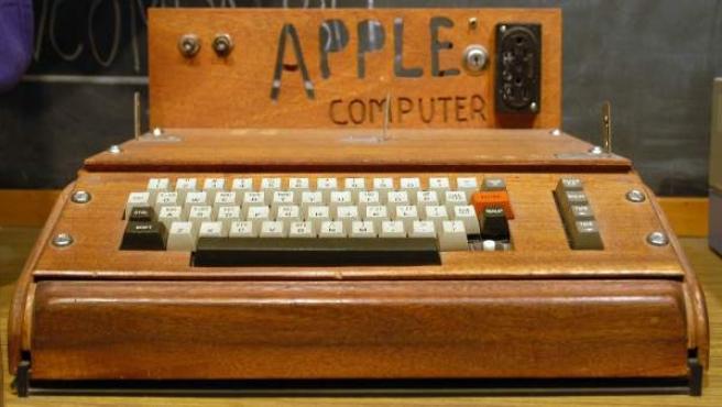Apple I, considerado el primer ordenador personal de la historia.