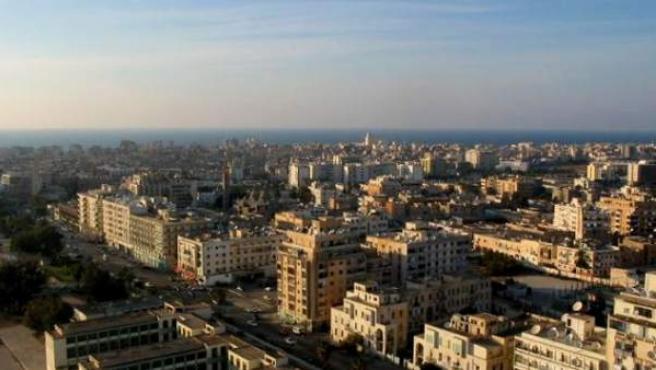 Imagen del centro antiguo de Benghazi, en Libia.