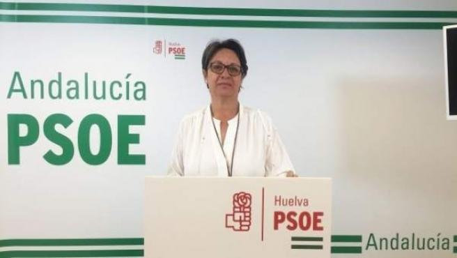 María Bella Martín, presidenta del PSOE de Lepe.