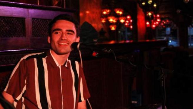 Valladolid. Alberto Domínguez durante un concierto en la sala Kerala