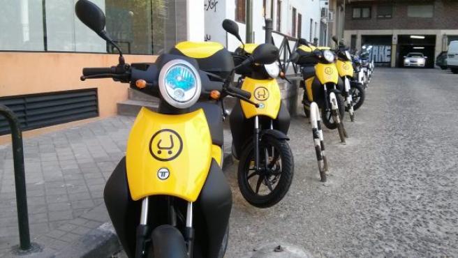 En Madrid de momento hay 135 motos, pero la idea es ampliar la flota hasta 500 durante 2017.