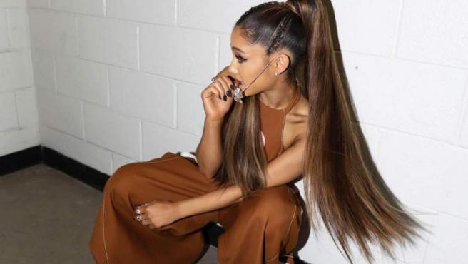 Una imagen de la cantante Ariana Grande, en una imagen de archivo de su Instagram.